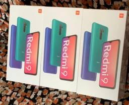 Xiaomi originais redmi 9 64gb 4gb ram lacrados