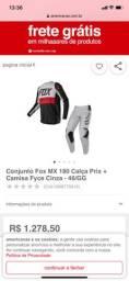 Kit calça e blusa motocross