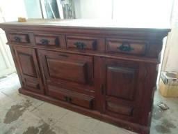 Vendo móvel antigo de madeira pura