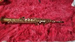 *OFERTA* Sax Soprano Eagle + boquilha Top Dukoff