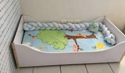 Título do anúncio: Cama infantil com colchão Tokstok