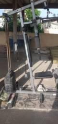 Mesa para malhar (Estacão de musculação)