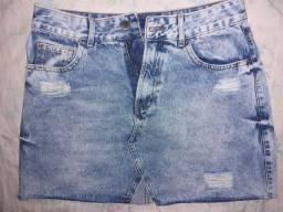 Saia jeans Renner