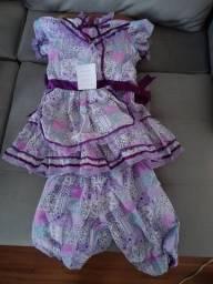 Título do anúncio: Vestido infantl caipira