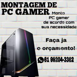 Monto e entrego PC Gamer