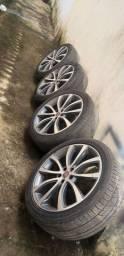 Vendo rodas aro 20 Fiat TORO  versão 2021 R$ 6.800,00 leia a descrição!!