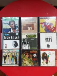 Lote com 9 CDS originais