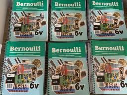 Vendo apostila Bernoulli 6v