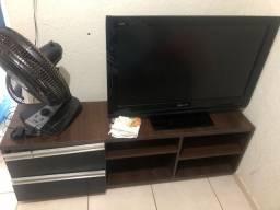 Rack e Tv por 250