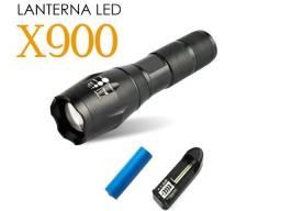 Lanterna Tática X900 Potência de Longo Alcance