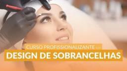 Curso de Designer de Sobrancelhas - PRESENCIAL