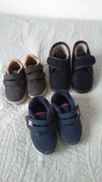 Kit calçados tam. 21
