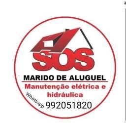 Título do anúncio: Marido de aluguel, manutenção e reparos elétricos e hidráulica em geral