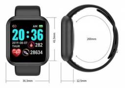 Y68 D20 Relógio Smart Watch com Bluetooth USB com Monitor Cardíaco