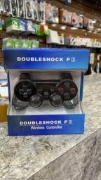 Controle Ps3 Playstation 3 Doubleshock Wirelless Sem Fio