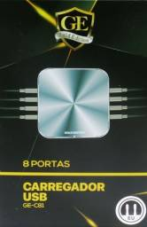 Carregador Gold Edition 8 Portas Usb