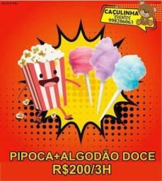 Título do anúncio: Pipoca + Algodão doce