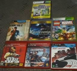 Vendo jogos de ps3 e Xbox 360 preço 40 reais dependendo do jogo faço ate 35 R$