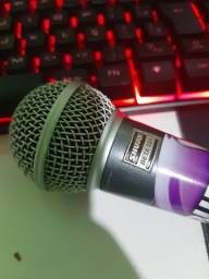 Microfone shure com fio Beta 58a