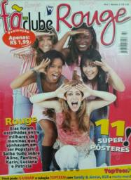 Revista Fã Clube Grupo Rouge