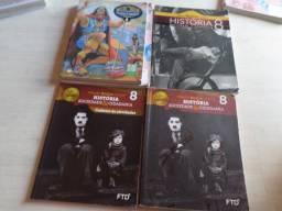Livros Didáticos Sexta Setima Oitava Série