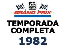 Formula 1 Temporada 1982 Completa Em Dvds