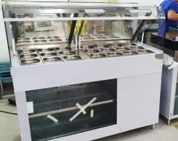 Balcões SelfService de adicionais para Sorveterias Refrigerado