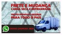 Frete, TEL na foto, mudanças, Petrópolis, Rio
