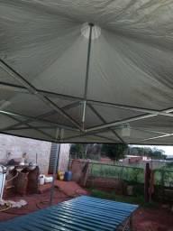 um tenda de 3 por 3 mais triper de 3m