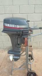Vendo motor Yamaha 15HP - 1991