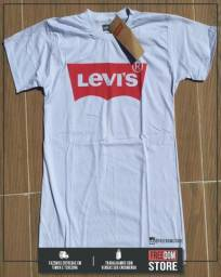 T-Shirt Levis - Logo Fire Black American