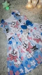 Vestido infantil promocional