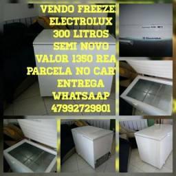 Vendo freezer electrolux semi novo
