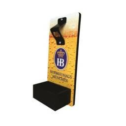 Abridor de Garrafa de Cerveja Parede em MDF com coletor de tampinhas Personalizado comprar usado  Rio de Janeiro