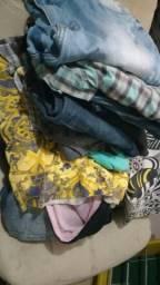 Tenho lotes de roupas,