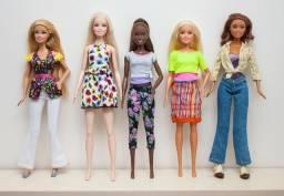 5 Barbies Originais Mattel diversas- Aceito Cartão