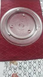 Prato de microondas Eletrolux - com sistema rodante