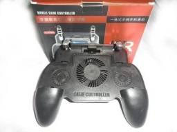 Suporte Gatilho Gamepad Handle Cooler P/ Celular 2000mah