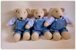 Ursinho de pelúcia decorativo para quarto de bebê
