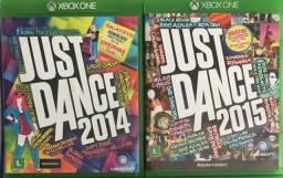 Just dance 2014 e 2015