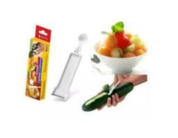 Descascador E Boleador Lâmina De Aço Inox P/ Frutas Verduras