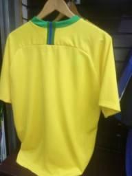 ba33235fee4a7 Camiseta Primeira Linha Brasil Amarela