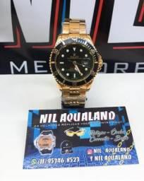 fc90561c1c8 Dourado e Preto - Rolex Submariner