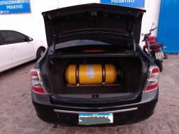 Cobalt automático 2013 GNV geração 5