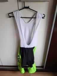 Conjunto Ciclismo Masculino Bretelle + Camisa