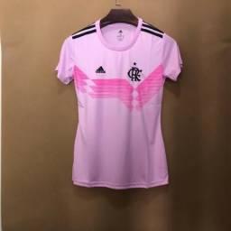 Camisa Flamengo Rosa 70 Anos Adidas