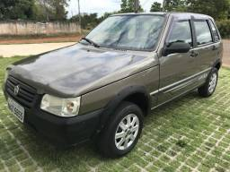 Fiat Uno 1.0 Mpi Mille Way Economy 8v Flex 4p Manual COMPLETO - 2010