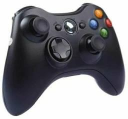 Controle Xbox 360 Sem Fio Joystick Wireless Pc Notebook