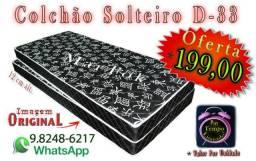 Apolo Barato Colchão D-33 Solteiro Oferta Tempo Limitado - Temos Beliches etc