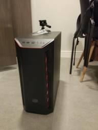 Gabinete atx coolermaster mb501l + 4 fan 120mm